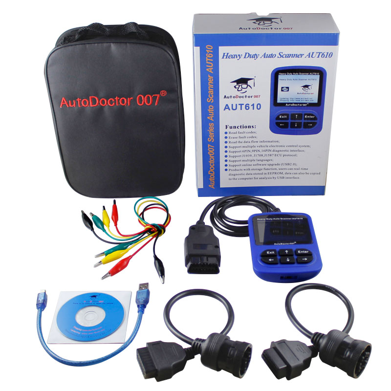 AutoDoctor007 AUT610 Auto Scanner for Heavy Duty Diesel